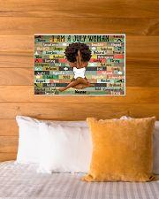 July woman 24x16 Poster poster-landscape-24x16-lifestyle-27
