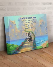 Don't Cry For Me - Puppy 14x11 Gallery Wrapped Canvas Prints aos-canvas-pgw-14x11-lifestyle-front-07