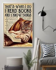 I Read Books And I Know Things 11x17 Poster lifestyle-poster-1