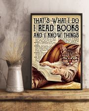 I Read Books And I Know Things 11x17 Poster lifestyle-poster-3