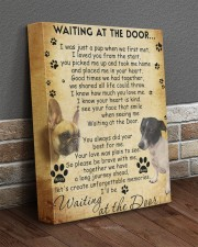 Minnie And Riley Waiting At The Door 11x14 Gallery Wrapped Canvas Prints aos-canvas-pgw-11x14-lifestyle-front-10