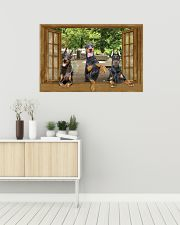 Doberman 36x24 Poster poster-landscape-36x24-lifestyle-01