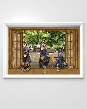Doberman 36x24 Poster poster-landscape-36x24-lifestyle-02
