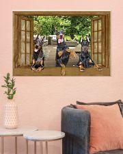 Doberman 36x24 Poster poster-landscape-36x24-lifestyle-18