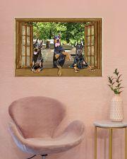 Doberman 36x24 Poster poster-landscape-36x24-lifestyle-19
