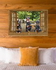 Doberman 36x24 Poster poster-landscape-36x24-lifestyle-23