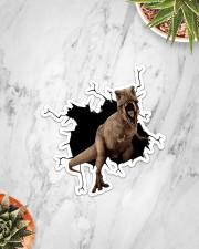 Dinosaur Crack Sticker - Single (Vertical) aos-sticker-single-vertical-lifestyle-front-06