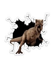 Dinosaur Crack Sticker - Single (Vertical) front