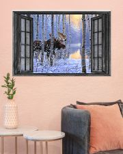 Deer 7 - HA 36x24 Poster poster-landscape-36x24-lifestyle-18