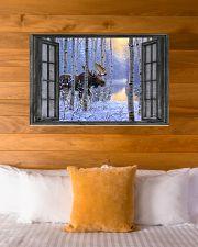 Deer 7 - HA 36x24 Poster poster-landscape-36x24-lifestyle-23