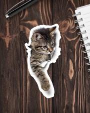 Cute cat Sticker - Single (Vertical) aos-sticker-single-vertical-lifestyle-front-05