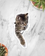 Cute cat Sticker - Single (Vertical) aos-sticker-single-vertical-lifestyle-front-06