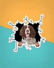 English Springer Spaniel Crack Sticker - Single (Vertical) aos-sticker-single-vertical-lifestyle-front-02