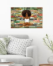 I am queen 24x16 Poster poster-landscape-24x16-lifestyle-01