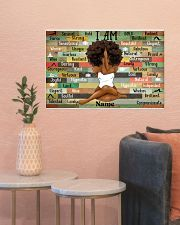 I am queen 24x16 Poster poster-landscape-24x16-lifestyle-22