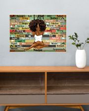 I am queen 24x16 Poster poster-landscape-24x16-lifestyle-25