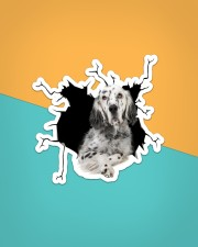 English Setter Sticker - Single (Vertical) aos-sticker-single-vertical-lifestyle-front-02