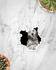 English Setter Sticker - Single (Vertical) aos-sticker-single-vertical-lifestyle-front-06