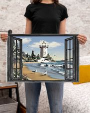 Lighthouse 4 24x16 Poster poster-landscape-24x16-lifestyle-20