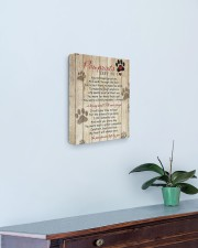 Pawprints Left By You 11x14 Gallery Wrapped Canvas Prints aos-canvas-pgw-11x14-lifestyle-front-01