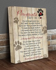 Pawprints Left By You 11x14 Gallery Wrapped Canvas Prints aos-canvas-pgw-11x14-lifestyle-front-10