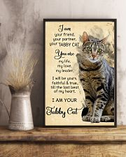 Tabby cat 11x17 Poster lifestyle-poster-3