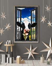Holstein Cow 2 11x17 Poster lifestyle-holiday-poster-1