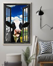 Holstein Cow 2 11x17 Poster lifestyle-poster-1