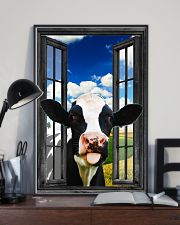 Holstein Cow 2 11x17 Poster lifestyle-poster-2