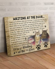 Simba And Raja Waiting At The Door 14x11 Gallery Wrapped Canvas Prints aos-canvas-pgw-14x11-lifestyle-front-07