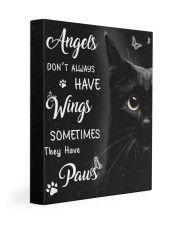 Angels Don't Always Have Wings 11x14 Gallery Wrapped Canvas Prints front