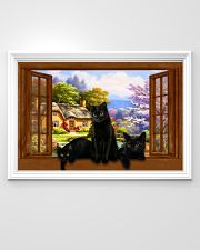 Black cat 36x24 Poster poster-landscape-36x24-lifestyle-02