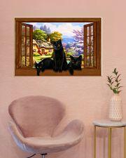 Black cat 36x24 Poster poster-landscape-36x24-lifestyle-19