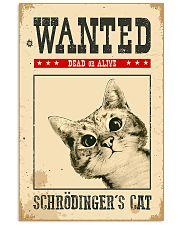 Wanted Schrodinger's Cat 11x17 Poster front
