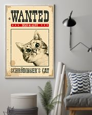 Wanted Schrodinger's Cat 11x17 Poster lifestyle-poster-1