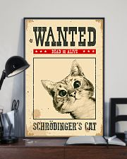 Wanted Schrodinger's Cat 11x17 Poster lifestyle-poster-2