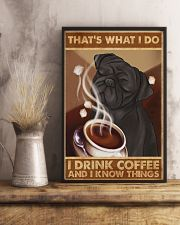 Pug That's What I Do 11x17 Poster lifestyle-poster-3