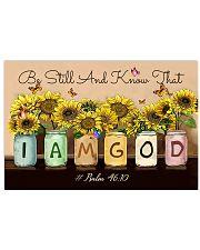 I Am God 17x11 Poster front