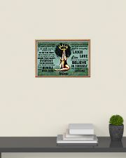 Believe in yourself 24x16 Poster poster-landscape-24x16-lifestyle-09
