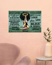 Believe in yourself 24x16 Poster poster-landscape-24x16-lifestyle-23