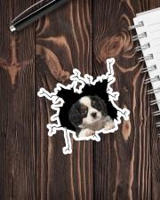 Cavalier King Charles Spaniel Sticker - Single (Vertical) aos-sticker-single-vertical-lifestyle-front-05