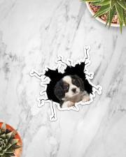 Cavalier King Charles Spaniel Sticker - Single (Vertical) aos-sticker-single-vertical-lifestyle-front-06