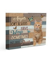Angels Don't Always Have Wings 14x11 Gallery Wrapped Canvas Prints front