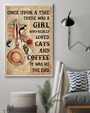 Loved cats n coffee 11x17 Poster lifestyle-poster-1
