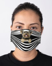 Yorkshire Terrier Cloth face mask aos-face-mask-lifestyle-01