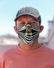 Yorkshire Terrier Cloth face mask aos-face-mask-lifestyle-06