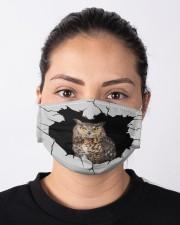 Owl Crack Cloth face mask aos-face-mask-lifestyle-01