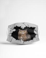 Owl Crack Cloth face mask aos-face-mask-lifestyle-22