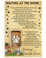 Cat Waiting At The Door - Beage color 11x17 Poster front