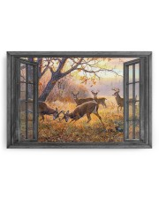 Deer 30x20 Gallery Wrapped Canvas Prints aos-canvas-pgw-30x20-ghosted-front-02